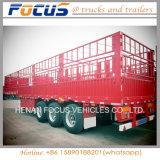 3 Aanhangwagen van de Vrachtwagen van de Staak van de as de Semi voor Vervoer