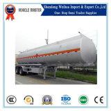 de Benzine van 45cbm/de Aanhangwagen van de Vrachtwagen van de Tanker van de Brandstof met As Fuwa