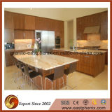 Kitchen/Bathroomのための白かBlack/Beige/Red/Gold Granite Kitchenの島Countertops