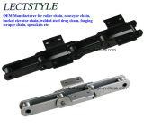 Ds540、Ds640、Ds800のDs400セメントの製造所のチェーン式バケットエレベータのコンベヤーの鎖
