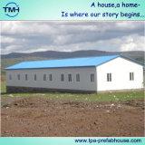 Casa Prefab do frame de aço para a exploração agrícola