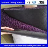 Belüftung-doppelte und einfarbige Farbe gesprühter Draht-Ring-Auto-Teppich