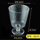 플라스틱 컵 처분할 수 있는 컵 포도주 잔 5개 Oz 식기