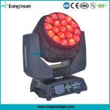 Effekt-Lichter des UL-19PCS 15W RGBW 4in1 bewegliche Kopf-LED