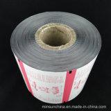 Plástico impreso embalaje de materiales de película para alimentos y dulces