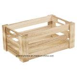 [3بك] قابل للتراكم خشبيّة [سلتّد] تخزين صندوق شحن خشبيّة ريفيّة سوق عرض عالقة جديد