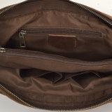 Redswan Leather Cover Cross Canvas Messenger Briefcase (RS-2167)