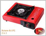 Poêle à gaz portatif portable à brûleur unique (SB-PTS07)