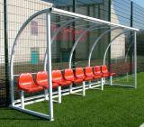 Arbitragem da equipe de árbitros - MVP Stadium Sports Shelter - Capa de banco Equipamento de futebol