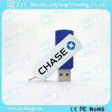 Flash Drive venta caliente del metal barato USB del eslabón giratorio (ZYF1180)