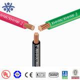 Isolação de cobre de Rhh/Rhw-2/Use-2 600V 90c XLPE 600 volts com UL44