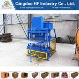 A melhor máquina para fabricação de tijolos de barro vermelho máquinas de tijolos de barro Hf4-10 Construção do preço de máquina de tijolos de intertravamento de equipamento Nepal