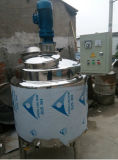 Camisa de agua tanque agitador de mezcla de cuba de fermentación tipo de champú Precio