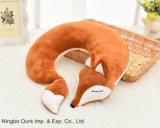 Fornitore a forma di U del cinese del cuscino del collo di Fox U del fumetto del cotone del cuscino pp del fumetto creativo
