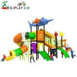 2018 Design atualizado parque infantil exterior de plástico para Estacionamento