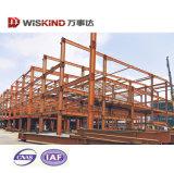 Structure légère en acier moderne entrepôt bon marché modulaire