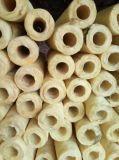 De gezogen Pijp van de Isolatie van de Materialen van het Broodje van de Glaswol van de Verpakking Algemene