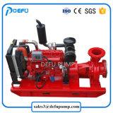 Certificado pela UL 500gpm de combate a incêndio do motor diesel da bomba de sucção da Extremidade