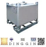 Abfallbehälter des Edelstahl-1000L mit UNO-Zustimmung