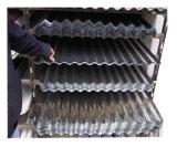 Zink-Beschichtung-Dach-Blatt mit Wellen-Fliese