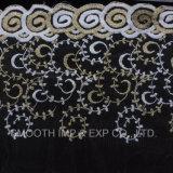 Принадлежности одежды Net пряжа вышивка кружевной ткани текстильный платье Полиэстер