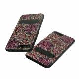Caja protectora permanente del teléfono móvil de la goma TPU de la PU para el iPhone 8 más