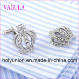 VAGULAの品質の熱い販売の王冠のGemelosのカフスボタン