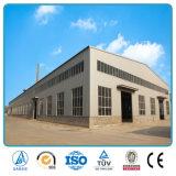 Structure métallique de qualité préfabriquée de coût bas pour l'entrepôt