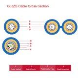 Cavo ottico corazzato dell'interno della fibra (GJJZS)