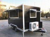 無声発電機が付いている移動式食糧カートのトレーラー