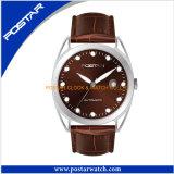 De veelvoudige Keuzen maken Horloge met de Riem van het Leer waterdicht Geniune