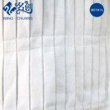 Señoras fábrica de ropa pliegue superior del depósito de algodón, camisa de vestir