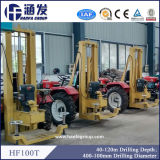 Equipamento Drilling montado trator de poço de água para a venda (HF100T)
