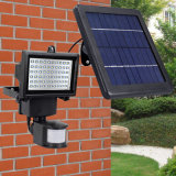 La energía solar Powered LED recargable LED Spotlight Jardín