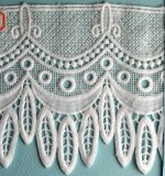 Boda moda tela Soluble en agua con puntilla de encaje bordado