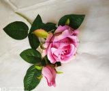 Seda artificial verdadero toque flor