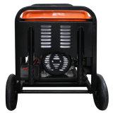 공기에 의하여 냉각되는 휴대용 디젤 엔진 발전기 세트 (3KW)를 가진 안락 힘