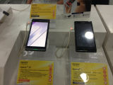 Samsung support téléphone pour la sécurité afficher