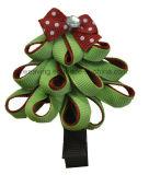Bunter Weihnachtsbaum-Haarpin-Haar-Klipp-Haar-Bogen