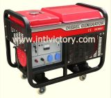 diesel van de enig-Cilinder 2kVA~12kVA Generator met Ce/CIQ/Soncap/ISO