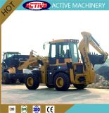 retroescavadora 2.5Ton WZ30-25 com 1,4 m3 caçamba de carregamento e 0,3m3 balde de escavação