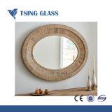 Specchio d'argento dello specchio di sicurezza/occhiali di protezione con la parte posteriore della pellicola del PE/la parte posteriore pellicola del vinile