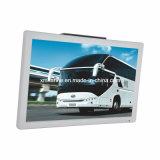 Pantalla LCD vehicular montada en techo de 21,5 pulgadas