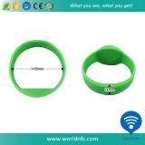 Bracelets imperméables à l'eau d'IDENTIFICATION RF des silicones NFC Ntag213