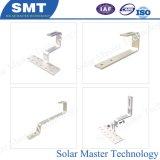 Hauteur de rack solaire toit métallique en acier galvanisé les supports de montage solaire