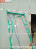 Verschluss auf Walk Through Frame Scaffolding With Steel Ladder