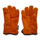 Перчатки кожаный водителей управляя с подкладкой Thinsulate полной