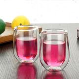 Whisky doppio fatto a mano vetro di vino di vetro della tazza dell'a cristallo di tazza