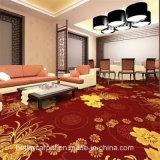Nylon Chromojet lujo alfombras para la impresión de pasillo del hotel
