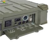 IP65 Rainproof軍隊の使用20ワットの携帯用太陽発電機(SN-BX-020)